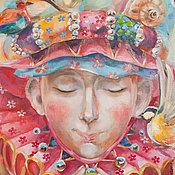Картины и панно ручной работы. Ярмарка Мастеров - ручная работа Оле Лукойе. Handmade.
