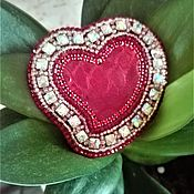 Украшения handmade. Livemaster - original item Beaded decoration. Brooch