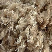 Материалы для творчества handmade. Livemaster - original item Alpaca Waka gold sand #1285. Handmade.
