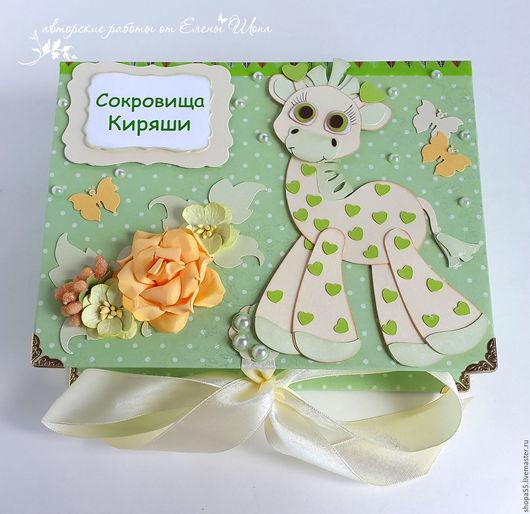 """Подарки для новорожденных, ручной работы. Ярмарка Мастеров - ручная работа. Купить Мамины сокровища """"Жирафик"""" мамины сокровища унисекс. Handmade."""