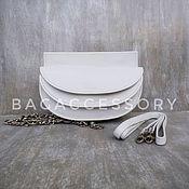 Сумки и аксессуары handmade. Livemaster - original item Bag on the belt genuine leather. Handmade.