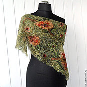 Аксессуары handmade. Livemaster - original item Wood nymph - a Lacy scarf. Handmade.