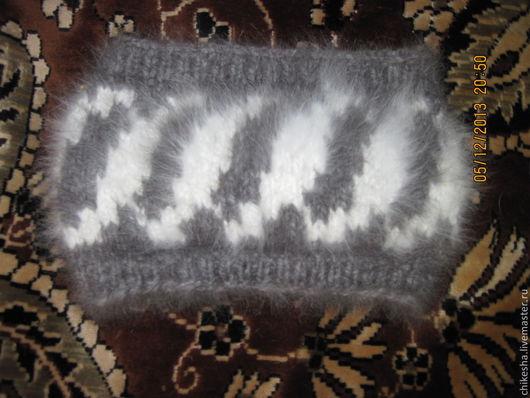 Повязки ручной работы. Ярмарка Мастеров - ручная работа. Купить повязка на голову из кроличьего пуха. Handmade. Повязка на голову