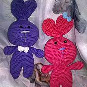 Куклы и игрушки ручной работы. Ярмарка Мастеров - ручная работа Заюшки. Handmade.