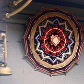 """Картины и панно ручной работы. Ярмарка Мастеров - ручная работа Индейская мандала """"Закат в предгорьях"""". Handmade."""