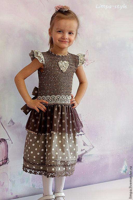 """Одежда для девочек, ручной работы. Ярмарка Мастеров - ручная работа. Купить Платье """"Принцесса на горошине"""". Handmade. Наряд для девочки"""