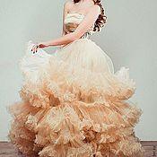 Одежда ручной работы. Ярмарка Мастеров - ручная работа Платье с рюшами. Handmade.