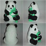 """Косметика ручной работы. Ярмарка Мастеров - ручная работа мыло"""" панда"""". Handmade."""
