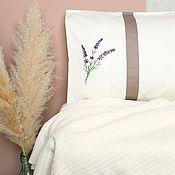 Для дома и интерьера handmade. Livemaster - original item Bed linen with embroidery