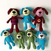 Куклы и игрушки ручной работы. Ярмарка Мастеров - ручная работа Игрушка Собака. Handmade.