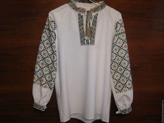 Этническая одежда ручной работы. Ярмарка Мастеров - ручная работа. Купить Вышиванка Гармония. Handmade. Комбинированный, Шерстяная нить
