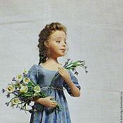 """Куклы и игрушки ручной работы. Ярмарка Мастеров - ручная работа Авторская коллекционная кукла """"Полевые цветы"""". Handmade."""