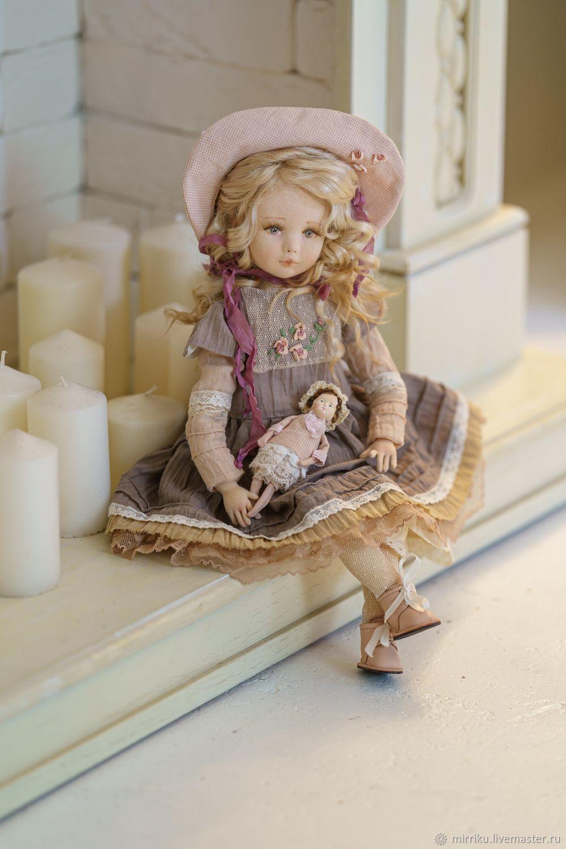 рост 40 см, Будуарная кукла, Малоярославец,  Фото №1