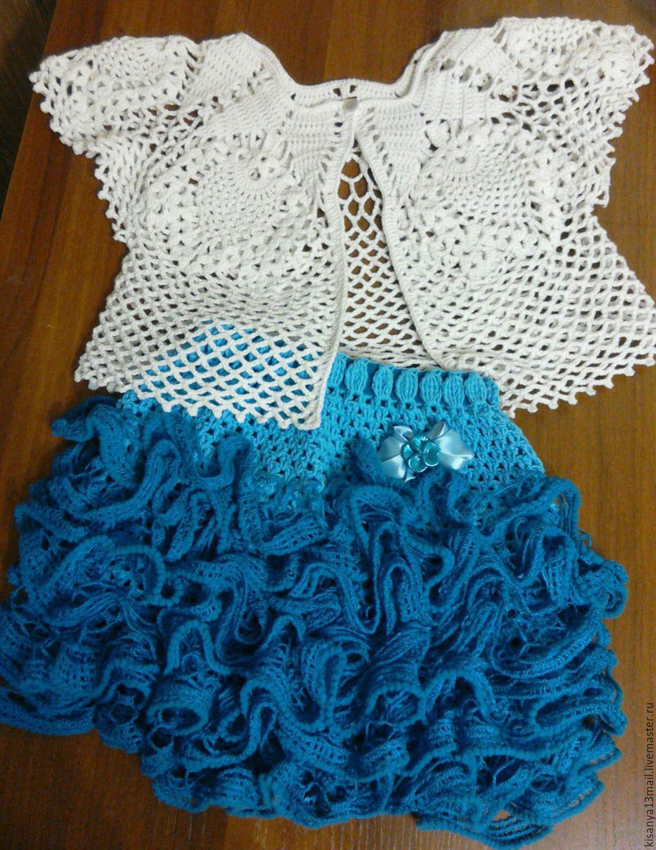 Вязание детских пышных юбок