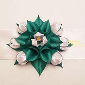 Аксессуары handmade. Livemaster - original item Satin sash