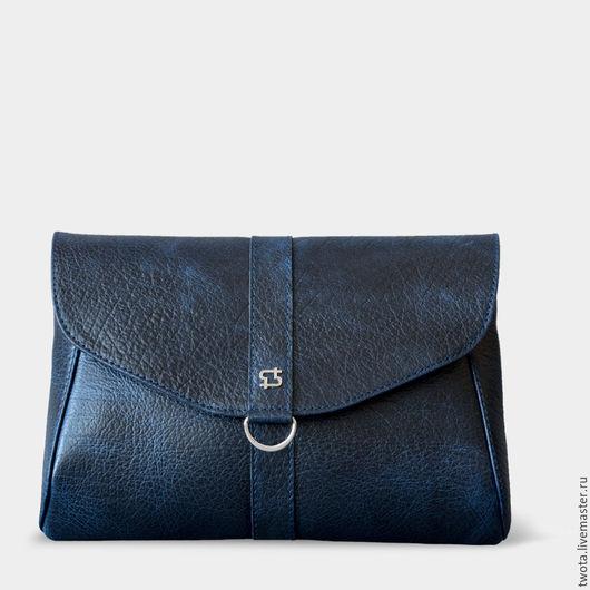 Женские сумки ручной работы. Ярмарка Мастеров - ручная работа. Купить Karen mini. Handmade. Клатч, клатч из натуральной кожи