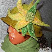 Шляпы ручной работы. Ярмарка Мастеров - ручная работа Модель № 1. Алиса. Handmade.
