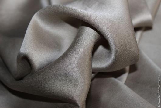 """Шитье ручной работы. Ярмарка Мастеров - ручная работа. Купить Шелк MaxMara """"Золотой"""". Handmade. Шелк, итальянские ткани, ткань"""