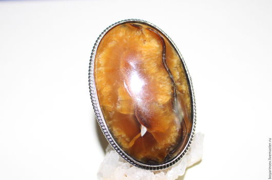 Кольца ручной работы. Ярмарка Мастеров - ручная работа. Купить кольцо с аммонитом. Handmade. Комбинированный, крупные камни