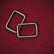 Материалы для творчества ручной работы. Ярмарка Мастеров - ручная работа Рамки для сумок 33мм (бронза). Handmade.