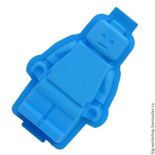 Другие виды рукоделия ручной работы. Ярмарка Мастеров - ручная работа. Купить Силиконовый молд Лего Человечек (Lego Men). Handmade.