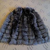Одежда ручной работы. Ярмарка Мастеров - ручная работа Жилет из чернобурки. Handmade.