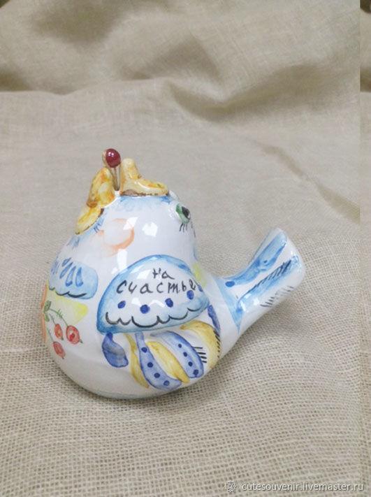Синяя птичка-колокол на счастье, Колокольчики, Москва,  Фото №1