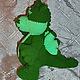 Сказочные персонажи ручной работы. Заказать Дракон зеленый вязаный. Sonmagia Art (SonmArt). Ярмарка Мастеров. Дракончик, дракон вязаный