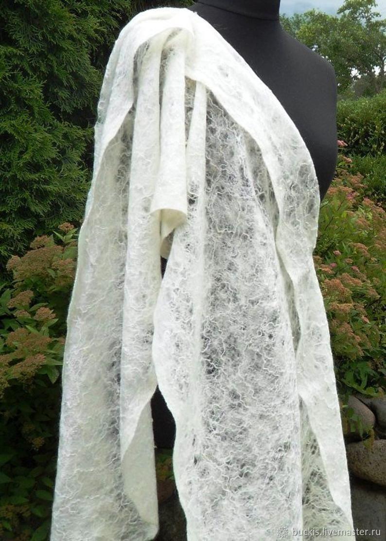 Невеста - валяный палантин, паутинка, Палантины, Вильнюс,  Фото №1