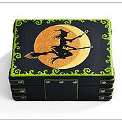 Для дома и интерьера ручной работы. Ярмарка Мастеров - ручная работа Шкатулка для Таро ведьм. Handmade.