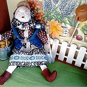 Куклы и игрушки ручной работы. Ярмарка Мастеров - ручная работа Кукла Бабка с картошкой. Handmade.