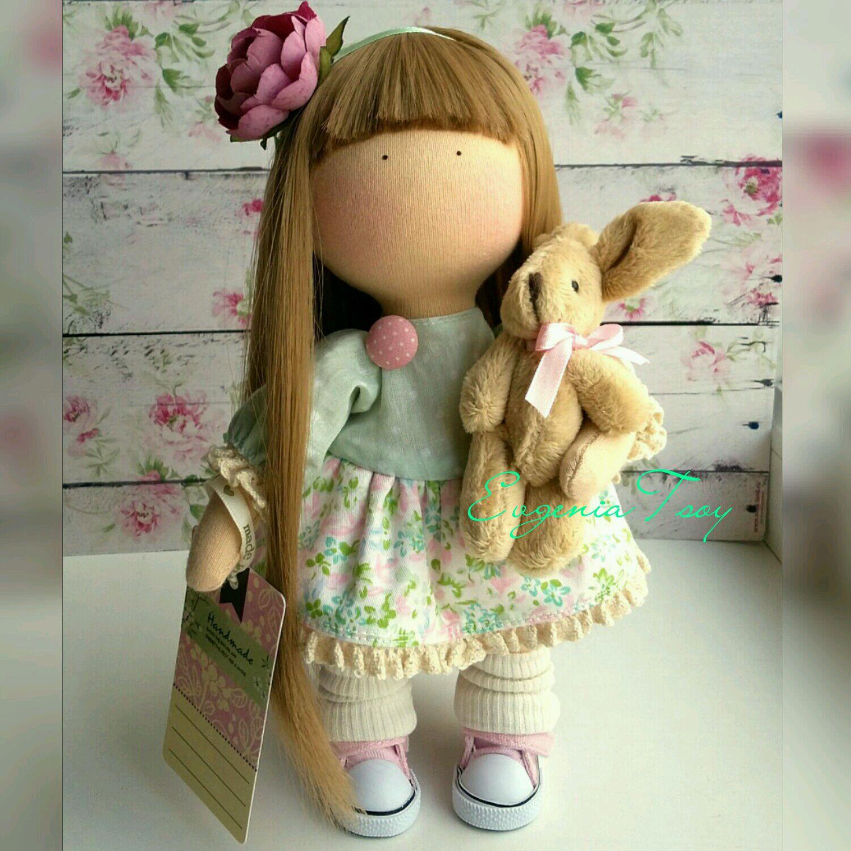 Текстильная кукла от макушки до пяточек Ярмарка Мастеров 61