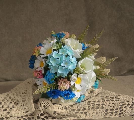 Свадебные цветы ручной работы. Ярмарка Мастеров - ручная работа. Купить Свадебный букет. Handmade. Букет невесты, свадебный букет