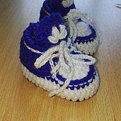 Работы для детей, ручной работы. Ярмарка Мастеров - ручная работа Пинетки вязанные. Handmade.
