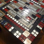 Для дома и интерьера handmade. Livemaster - original item Coffee table with a mosaic of