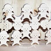 Куклы и игрушки handmade. Livemaster - original item Designer mosaic balancer out of wood. Funny monkeys. Handmade.