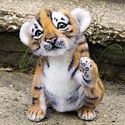 Куклы и игрушки ручной работы. Ярмарка Мастеров - ручная работа Тигренок Тигр. Handmade.