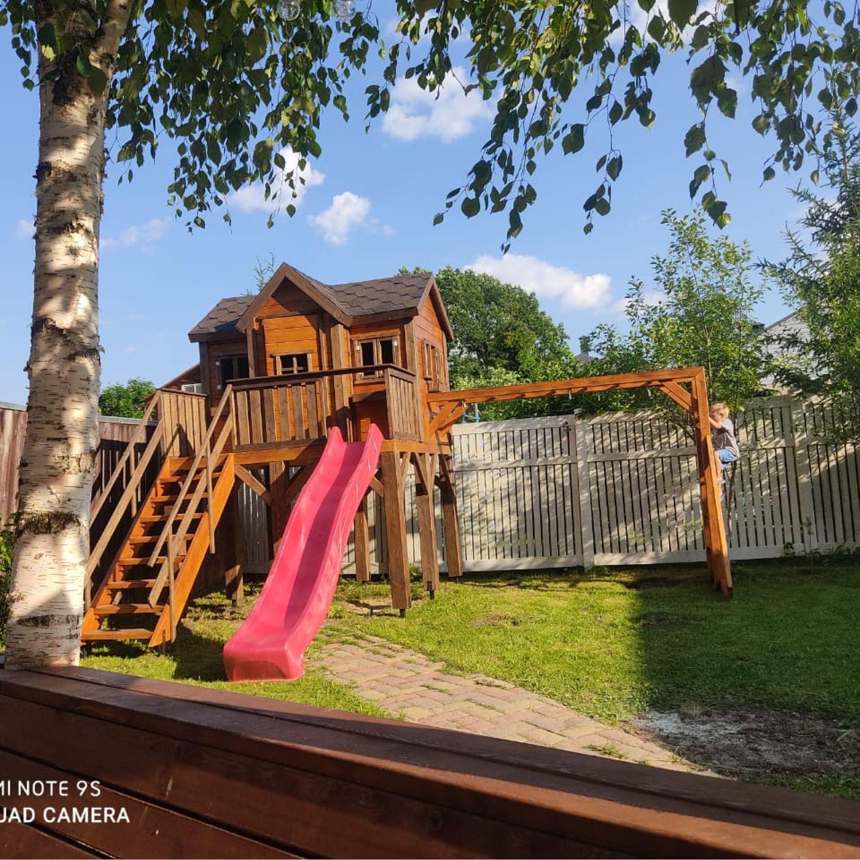 Детский деревянный игровой домик, Домики, Дмитров,  Фото №1