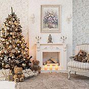 Для дома и интерьера handmade. Livemaster - original item Decorative fireplace. Handmade.