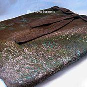 """Одежда ручной работы. Ярмарка Мастеров - ручная работа Юбка """"Зелёный с шоколадом"""". Handmade."""