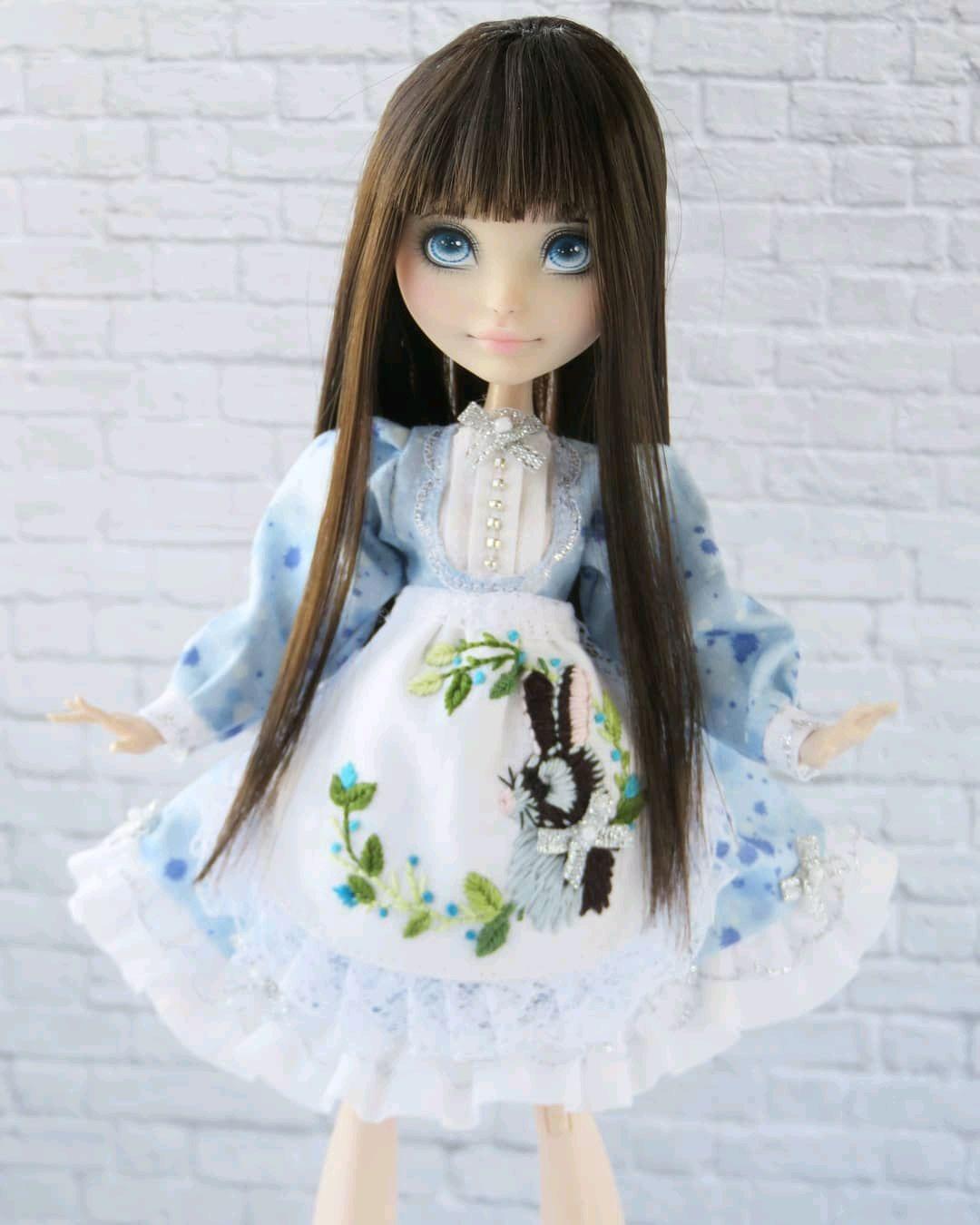 Одежда для кукол Монстер Хай и Эвер Афтер с вышивкой, Одежда для кукол, Можга,  Фото №1