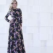 Одежда handmade. Livemaster - original item Dress evening prom dress long to the floor silk. Handmade.