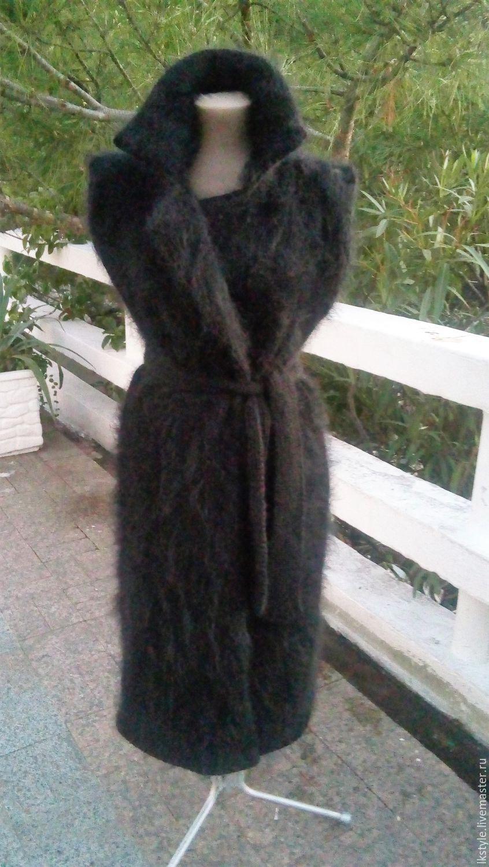 Пальто без рукавов из мохера, Пальто, Сочи,  Фото №1