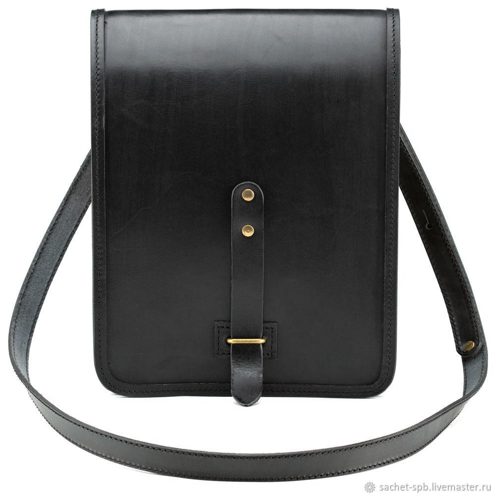 Makar leather bag (black), Tablet bag, St. Petersburg,  Фото №1