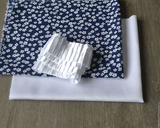 Шитье ручной работы. Ярмарка Мастеров - ручная работа. Купить Набор ткани 20. Handmade. Синий, набор для творчества