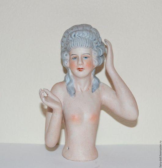 Винтажные куклы и игрушки. Ярмарка Мастеров - ручная работа. Купить Большая старинная кукла половинка / Half doll. Handmade.