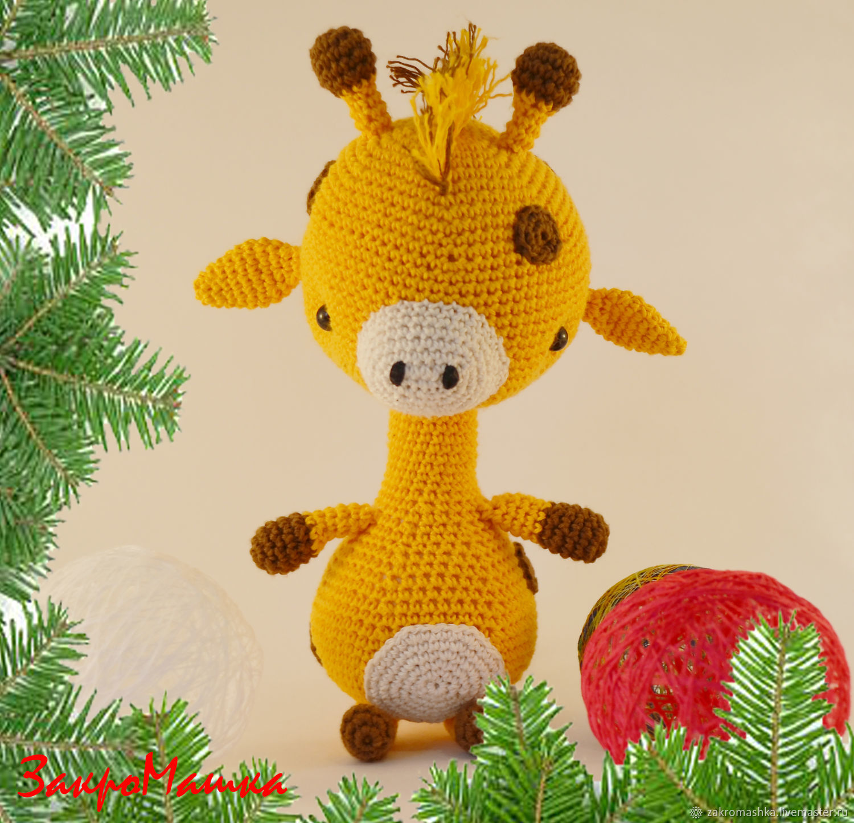 "Мягкая игрушка ""Жираф"". Soft toy "" Giraffe"", Мягкие игрушки, Пушкино,  Фото №1"