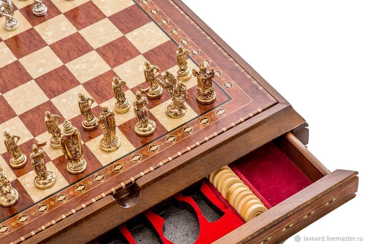 #Chess-checkers-backgammon 'Royal' 2626N-atgl, Chess, Moscow,  Фото №1