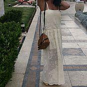 """Одежда ручной работы. Ярмарка Мастеров - ручная работа Филейный сарафан """"розы"""". Handmade."""