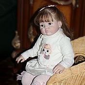 Куклы и игрушки ручной работы. Ярмарка Мастеров - ручная работа Ульяночка кукла-реборн из молда Guddles. Handmade.